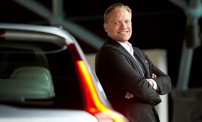 Henrik Green, jefe de I+D de Volvo
