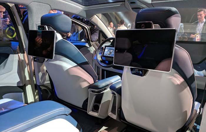 Interior del concept SUV de Byton