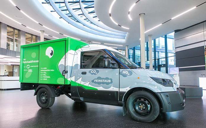 MANN+HUMMEL y DHL presentan el primer vehículo neutro en emisiones del mundo