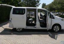 Nissan fabricará la e-NV200 de pasajeros exclusivamente en versión eléctrica