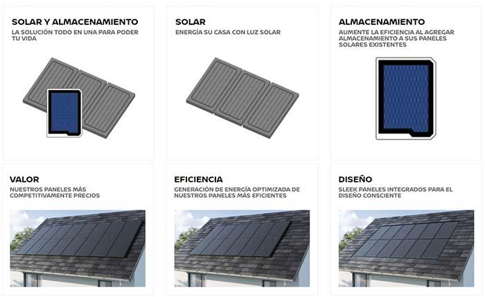Opciones de Nissan Energy Solar