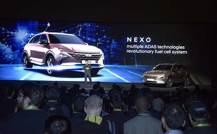 Presentación de Hyundai en el CES 2018