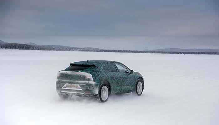Pruebas en el Ártico del Jaguar I-Pace
