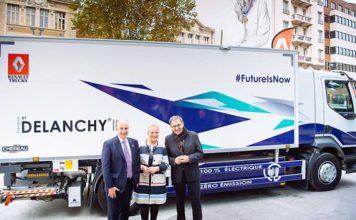 Renault Trucks entrega un camión eléctrico y refrigerado a Delanchy