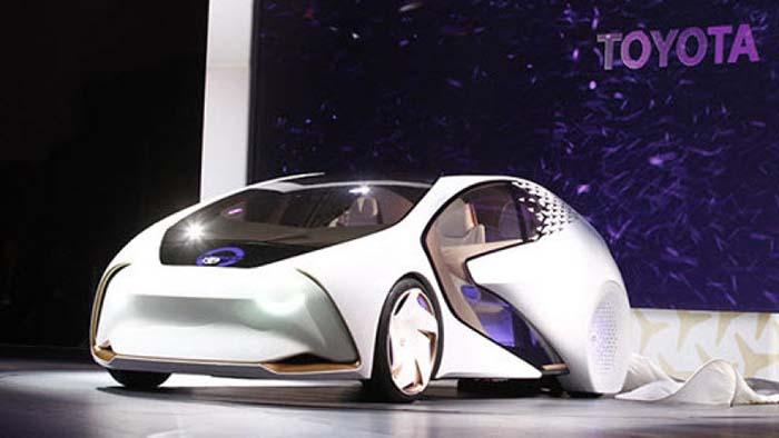 Toyota concept autónomo en el CES 2018