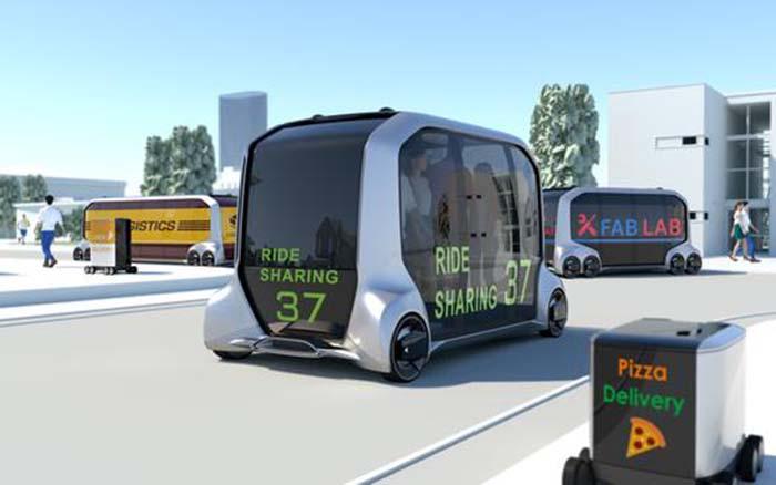 Toyota e-Palette, sistema de movilidad eléctrico y autónomo