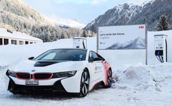Carga rápida en el Foro económico de Davos