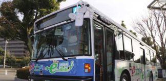 La tecnología del Nissan Leaf a bordo de un autobús eléctrico