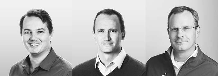 Aurora Innovation - Chris Urmson, cofundador y CEO, Sterling Anderson, cofundador y director de productos, Drew Bagnell, cofundador y director técnico