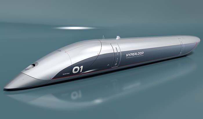 Cápsula Hyperloop de HTT