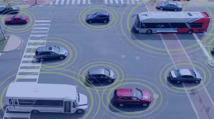 Comunicación V2I entre vehículos