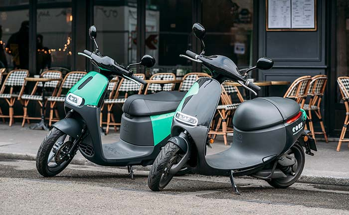 COUP, el motosharing eléctrico de BOSCH, llegará a Madrid este verano