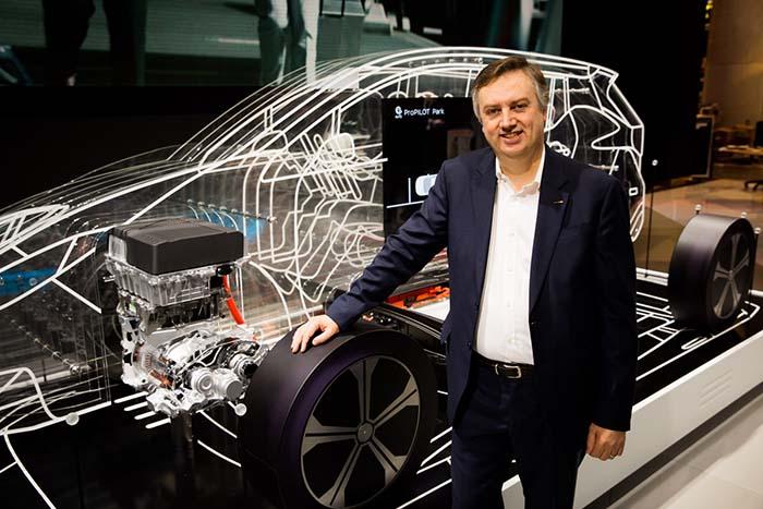 Daniele Schillaci, vicepresidente ejecutivo de Nissan