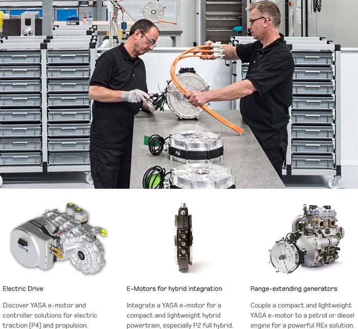 Fabricación de motores eléctricos - YASA