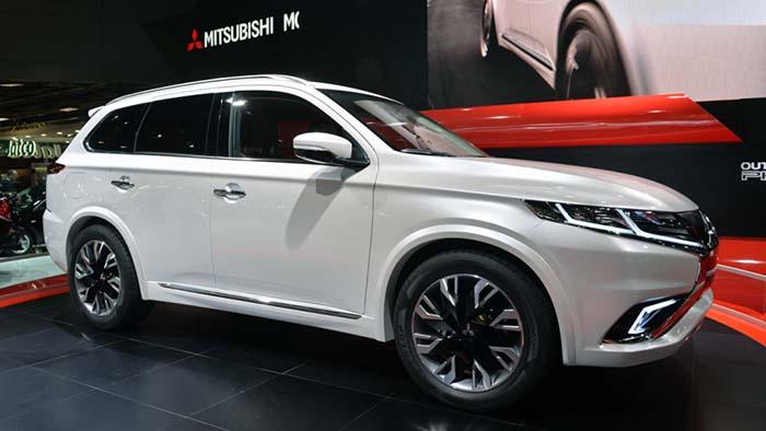 Mitsubishi Outlander PHEV concept en París - Foto de Autoblog