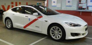 El Tesla Model S autorizado como taxi para Madrid