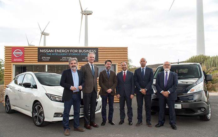 Nissan y el Cabildo de Tenerife promueven la movilidad eléctrica en la isla