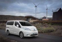 La nueva e-NV200 llegará en primavera con 200 kilómetros en ciclo WLPT