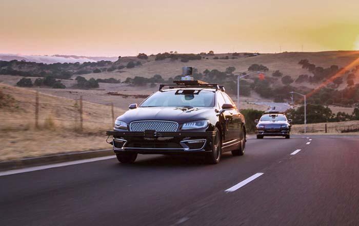 Pruebas de conducción autónoma de Aurora Innovation