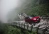 El Range Rover Sport PHEV asciende a Tianmen Mountain