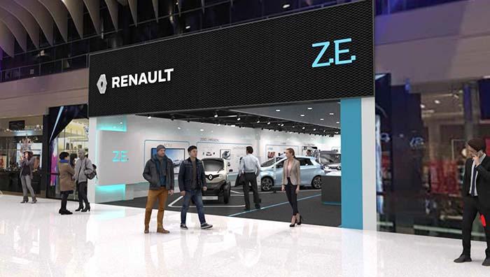 Renault abre su primer concept store de vehículos eléctricos en Estocolmo