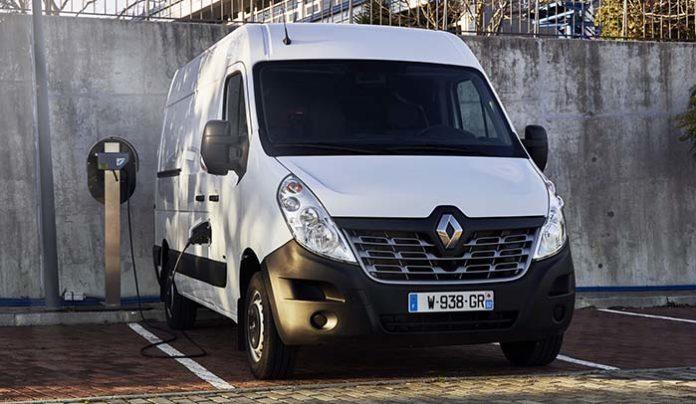 Presentación en Lisboa del Renault Master ZE