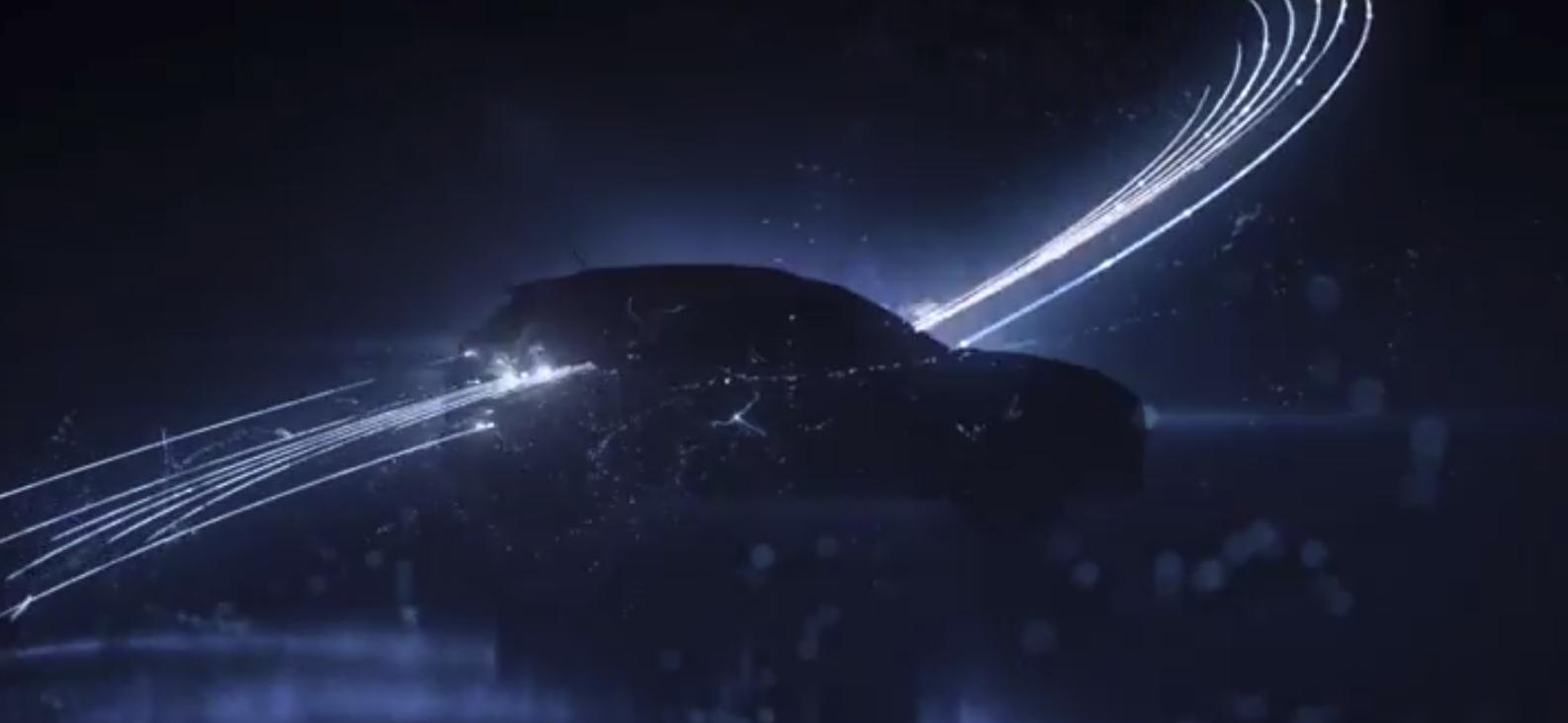 Silueta del Hyundai Kona eléctrico