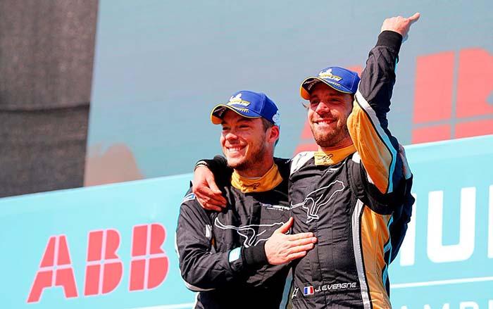 Jean-Eric Vergne nuevo líder del campeonato de la Fórmula E tras el e-Prix deSantiago