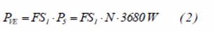 formula potencia vivienda esquema 1