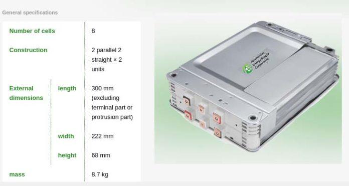 Nuevos módulos de batería de AESC - 40 kWh