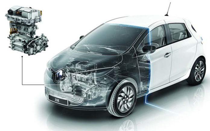 Renault prepara un nuevo motor eléctrico, el R110