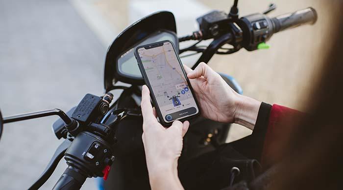 Aplicación móvil de MOVO