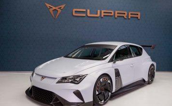 El Cupra e-RACER participará en algunos eventos de la las nuevas serie E TCR
