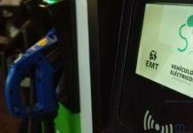 La EMT presenta las nuevas estaciones de recarga rápida en sus aparcamientos