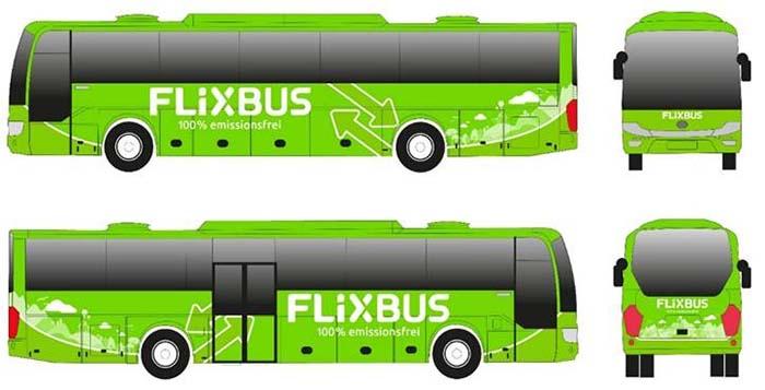 Flix E-Bus concept