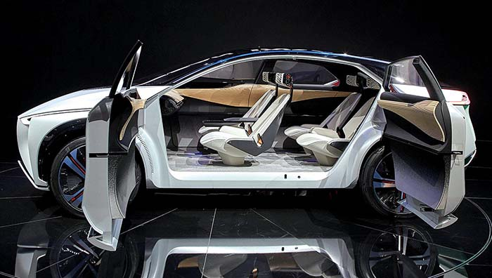 Interior del Nissan IMx - Automotive News