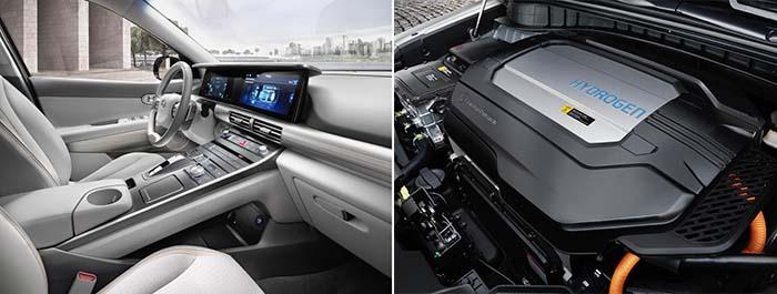 Interior y Motor Hyundai Nexo