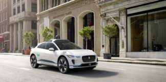Jaguar I-Pace autónomo de Waymo