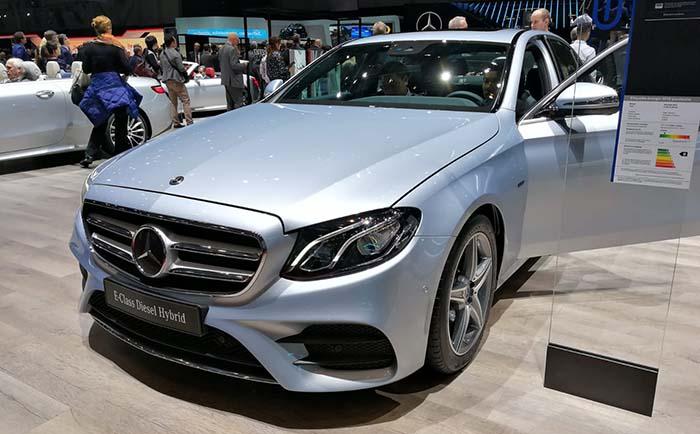 Mercedes Clase E PHEV