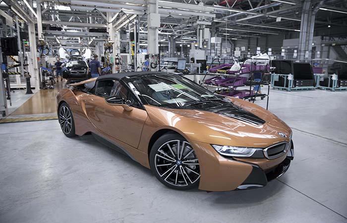 Nuevo BMW i8 Coupé