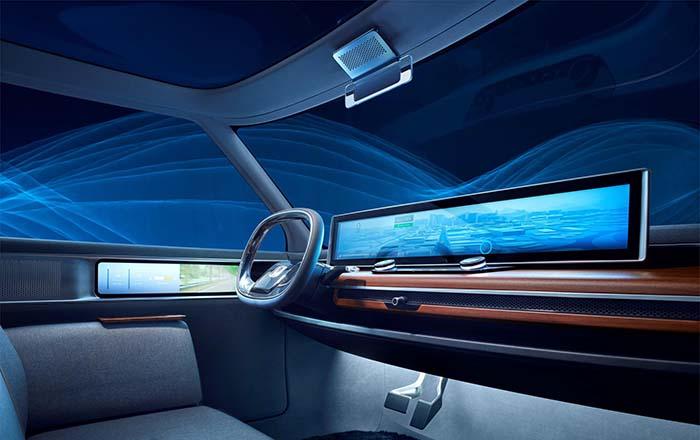 Pantallas de instrumentación interior del Honda Urban EV