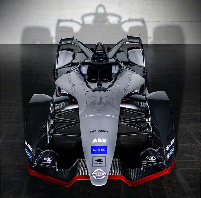 Prototipo del monoplaza de Nissan para la quinta temporada de la Formula E