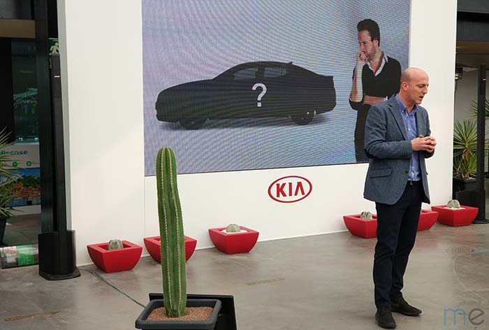 Ricardo de Diego, Director de Marketing de Kia
