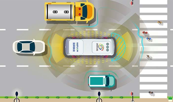 Sistemas ADAS de Haylion para autobuses