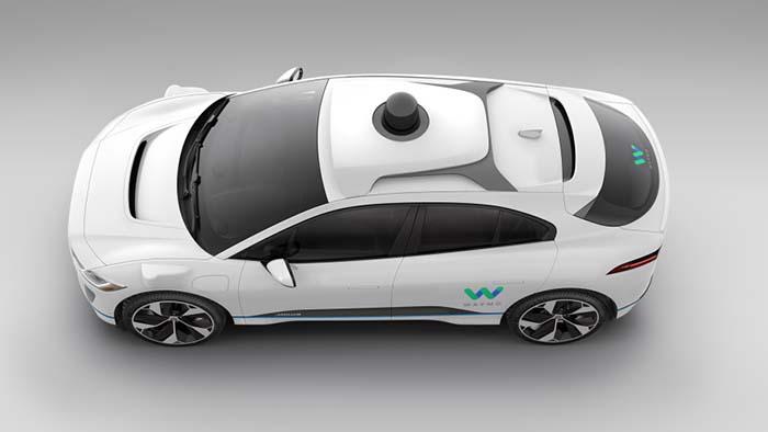 Sistemas autónomos del prototipo del Jaguar I-Pace