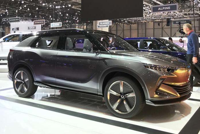 SsangYong e-SIV, un SUV eléctrico con 450 kilómetros de autonomía