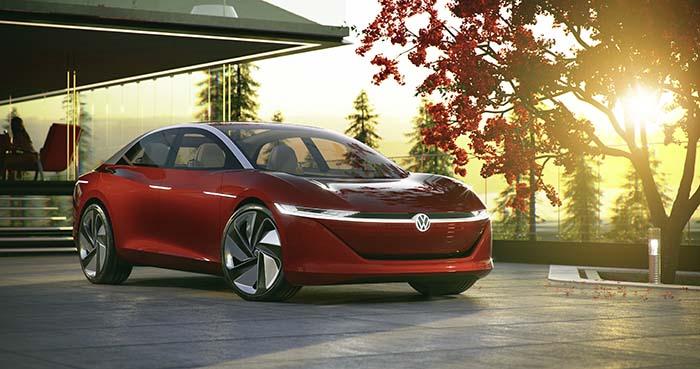 Volkswagen presentó el I.D. VIZZION en Ginebra