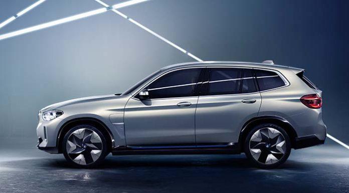 Presentación del BMW Concept iX3 en China