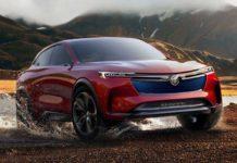 Un nuevo SUV eléctrico conceptual: Buick Enspire