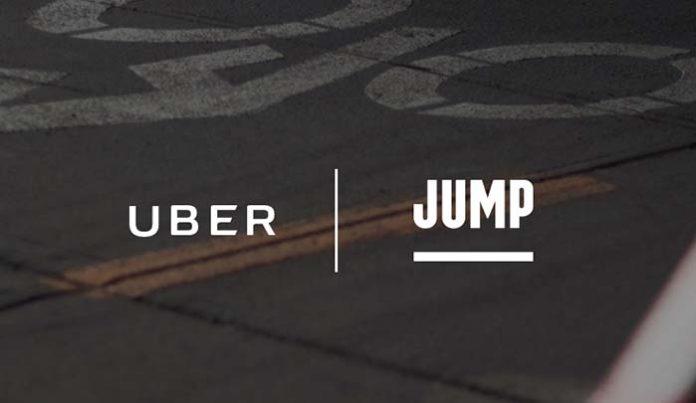 Uber se hace con JUMP, la compañía de bicisharing, para unirla a su oferta